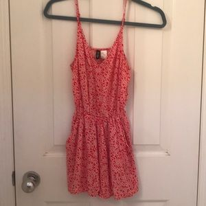 H&M Red and White Romper
